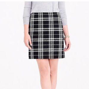 J. Crew Skirts - J. Crew Black Plaid Skirt